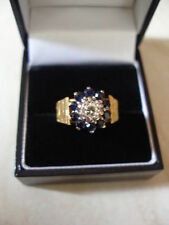 Christmas Cluster Sapphire Fine Rings