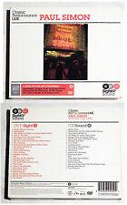 PAUL SIMON Classics Performance LIVE . 2000 Warner CD+DVD-Set (DVD ca. 120 Min)