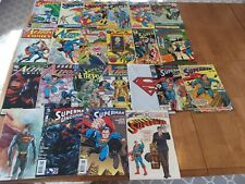 Superman Lot (23 Books): Silver And Bronze! Race W/Flash! 900! Back From Dead!
