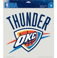 "Oklahoma City Thunder 8""x8"" Auto Decal [NEW] Die-Cut Car Sticker Emblem NBA CDG"