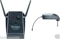 NuVoice UG9 UHF Wireless Guitar System Microphone 90° Plug by Vocopro