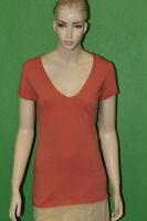 LOYALTY Women's Organic Cotton Salmon T-Shirt Sz XS $75