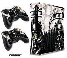 Skin Decal Wrap for Xbox 360 Slim Gaming Console & Controller Xbox360 Slim RPR W