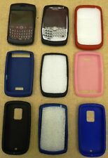 Silicone Skin Cases fBlackberry HTC Smartphones 9ct