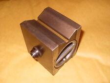 "Tesa (Swiss made) MAGNETICO VEE blocco base - 2 1/5 ""X 2 3/4"" x 2 1/4 "" - COME FOTO"