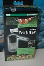 Dennerle Nano Filtro di angolo per 10 - 40 ltr. Acquari NUOVO & conf. orig.