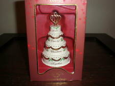 Lenox 2010 First Christmas Together Cake Ornament Nib