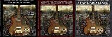 Standards Blues Bebop Rhythm changes walking bass lines book Complete bass tab