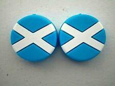 2 Scotland Flags Scottish Tennis Vibration Shock Absorber Dampener Andy Murray