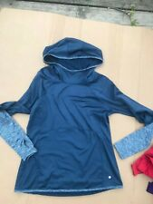 LAYER 8 athletic hooded shirt SIZE M running gym