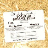 Toasted Sesame Seeds ~ 2 Lbs