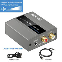 HDMI ARC Audio Converter Adapter Extractor HDMI ARC Audio Input To L/ R Value