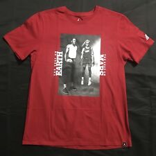 Nike  Air Jordan Retro 3 Black Cement Mars Blackmon T-Shirt Large 878411-687 NWT