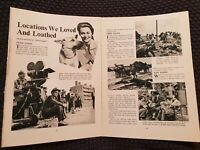 Locations We Loved & Loathed - Vintage Hollywood - Book Print