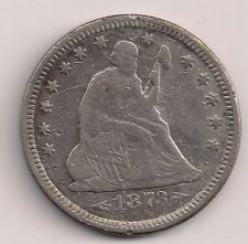 1873 Seated Liberty Quarter