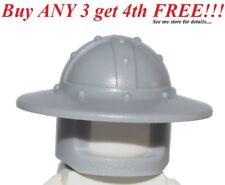 ☀️NEW Lego Boy/Girl Minifig Hat Kingdoms Light Bluish Gray HELMET Castle Knight