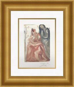 Salvador Dali - Reawakening Divine Comedy Custom Framed Print FREE SHIPPING