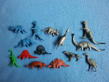 Lot of 14 DINOSAURS Plastic Marx and Others