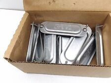 """BOX OF 20 CROUSE-HINDS 280 3/4"""" STEEL COVER FOR FORM 8 BODY"""