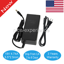Power AC Adapter Laptop Charger For Toshiba Satellite C55T-A5123 C55T-A5222 90w