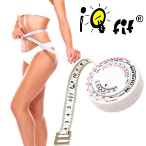 10er Pack Bmi Measuring Tape Body Measure With Calculator (German Labeling)