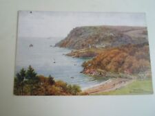 A R QUINTON Postcard 2395 SALCOMBE Bolthead+North Sands  Unposted  §A2343