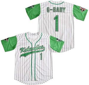 G-Baby Jarius Evans #1 Kekambas Hardball Movie Baseball Jersey Stitched