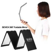 360° Foldable Compact Makeup Mirror Travel Pocket Makeup Mirrors Stylish Tool