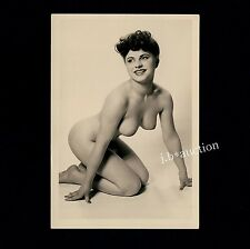 #440 RÖSSLER AKTFOTO / NUDE WOMAN STUDY * Vintage 1950s Studio Photo - no PC !