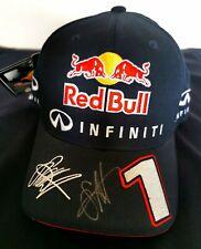 Sebastian Vettel signed Redbull Racing F1 personal baseball cap  FLEXFIT NFS
