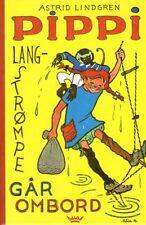 Buch Astrid Lindgren NORWEGISCH: Pippi Langstrompe Langstrumpf går gar ombord