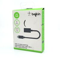 Belkin 5inch - USB-C to USB-A ADAPTER - Black, USB 3.0, 5 Gbps ™