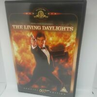 The Living Daylights (DVD, 2003) Timothy Dalton James Bond 007 Movie