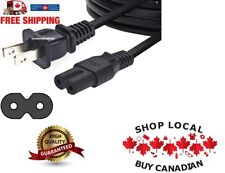 Power Cable Cord Figure 8 2 Prong PS2 PS3 PS4 XBOX DVD AC Game Console Apple