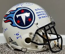 EDDIE GEORGE Super Bowl 34 Game Issued Style Autographed AUTHENTIC Titans HELMET