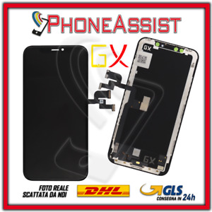 DISPLAY SCHERMO Per iPhone X OLED SOFT / HARD TOUCH SCREEN  LCD ORIGINALE GX