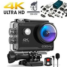 4K HD 20MP 1080P WiFi Sport Action Camera Waterproof Camcorder DV MIC w/Remote