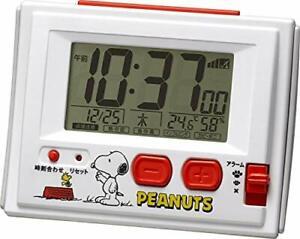 Snoopy Snoopy radio digital alarm Clock fromJAPAN