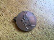 Antigua Medalla De Salto De Alta