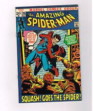 AMAZING SPIDER-MAN (v1) #106 Grade 9.0 Bronze Age find! Spidey unmasked?!?