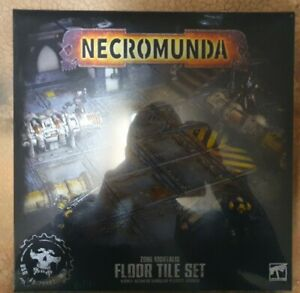 Zone Mortalis. Single floor tile. Sector Mechanicus 40k Kill Team terrain.