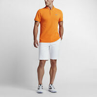 NIKE MENS MM FLY ROLL GOLF SHIRT POLO 746076-868 Orange SIZE M MEDIUM NWT $90