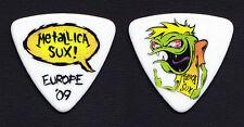 Metallica Sux Cartoon Bass Guitar Pick - Europe 2009 Tour