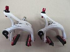 XLC Comp br-r01 Bicicleta De Carreras Juego de frenos Blanco Rojo NUEVO