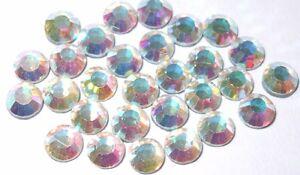 1440 2.5mm iron-on hotfix AB rainbow Rhinestone diamante cardmaking embellish