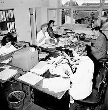 NANTERRE c. 1960 - Laboratoire Fraysse Les Bureaux  - Négatif 6 x 6 - N6 IDF34