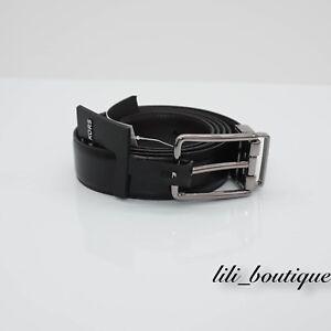 NWT Michael Kors Men's Cut to Size Reversible Dress Belt Leather Brown Black $78