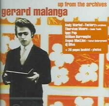 GERARD MALANGA - UP FROM THE ARCHIVES USED - VERY GOOD CD