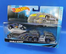 Mattel Hot Wheels Hw City BWD51 Premium Squadra Cars Dauble Demon