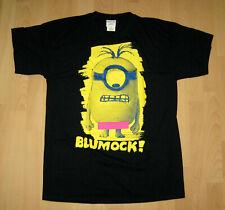 Minions Herren T-Shirt Gr. M, L, XL Dunkelblau Weiß Blumock! Despicable Me